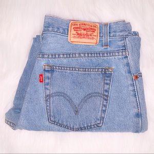 Vintage 550 Levi Jeans Light-wash